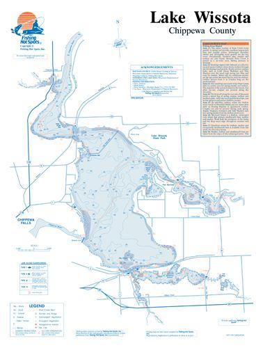 Iowa clear lake fishing hot spots map for Fishing hot spots maps