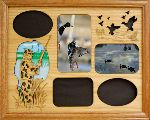 Duck Hunter Montage 11x14 Horizontal Picture Frame