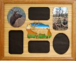 Elk Montage 11x14 Horizontal Picture Frame