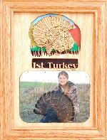 First Turkey 5x7 Vertical Picture Frame