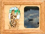 Duck Hunter 5x7 Horizontal Picture Frame