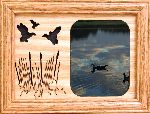 Ducks 5x7 Horizontal Picture Frame