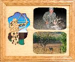 Bow Hunter 8x10 Horizontal Picture Frame