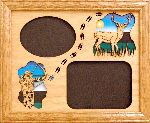 Bow Hunting Mule Deer 8x10 Horizontal Picture Frame