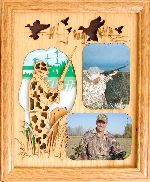 Duck Hunter with Dog 8x10 Vertical Picture Frame