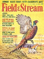 Vintage Field & Stream Magazine - September, 1970