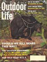 Vintage Outdoor Life Magazine - August, 1962