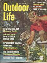 Vintage Outdoor Life Magazine - July, 1963