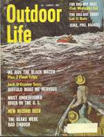 Vintage Outdoor Life Magazine - August, 1963