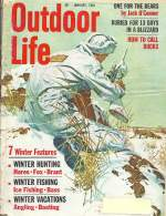 Vintage Outdoor Life Magazine - January, 1964