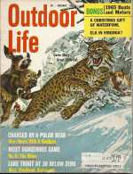 Vintage Outdoor Life Magazine - January, 1965
