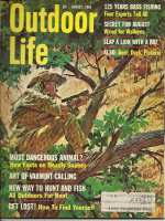 Vintage Outdoor Life Magazine - August, 1965