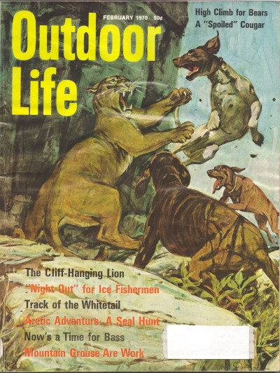 Vintage Outdoor Life Magazine - February, 1970 ... on Life Outdoor id=32461