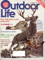 Vintage Outdoor Life Magazine - August, 1977