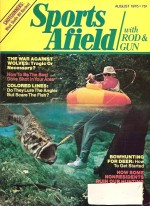 Vintage Sports Afield Magazine - August,1975
