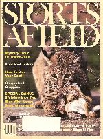 Vintage Sports Afield Magazine - April, 1983
