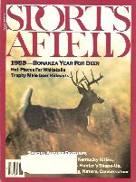 Vintage Sports Afield Magazine - August, 1988