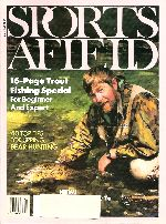 Vintage Sports Afield Magazine - April, 1989