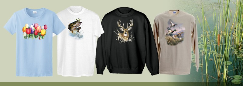 Wildlife and Fish Shirts